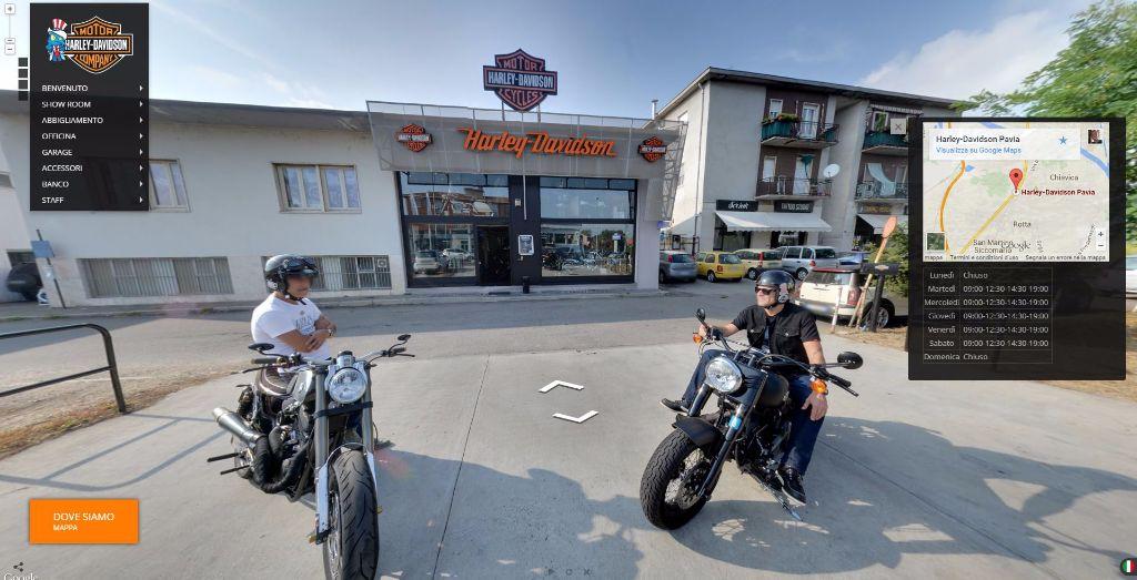 Harley Davidson Tourmake Max Pezzali Pavia