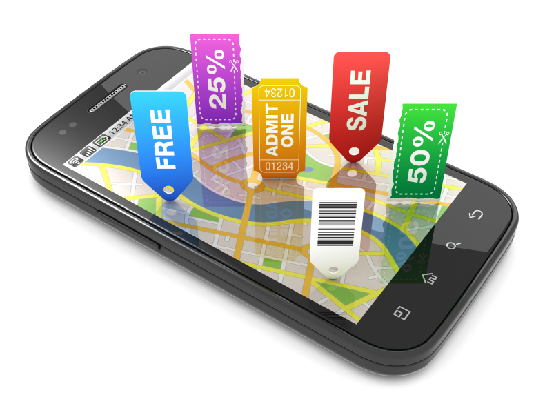 Local search mobile marketing