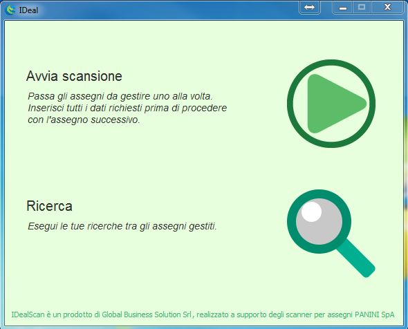 software scanner panini