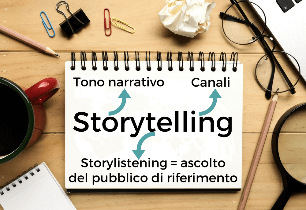 fattori chiave storytelling