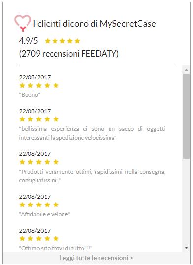 MySecretCase recensioni