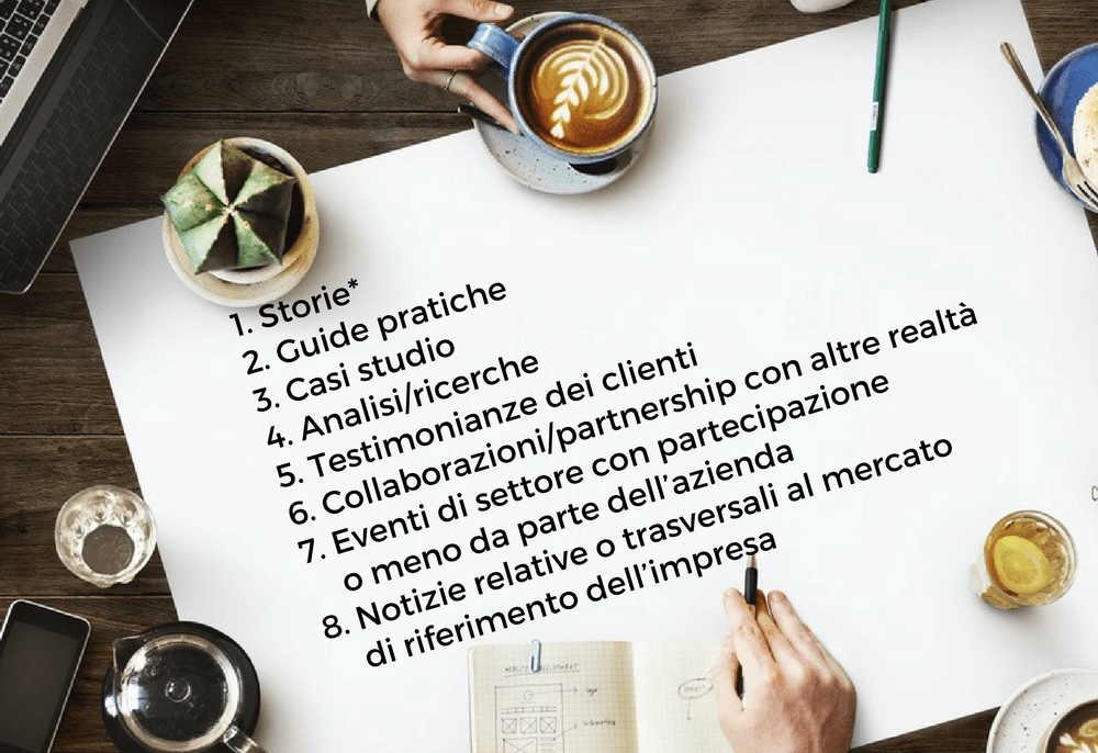 content marketing esempi di contenuti rilevanti