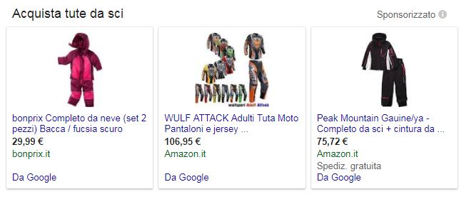 Google Adwords - Google shopping