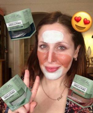 ClioMakeUp maschere argilla pura L'Oréal opinioni recensione