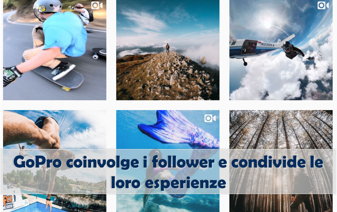 Instagram marketing Go Pro