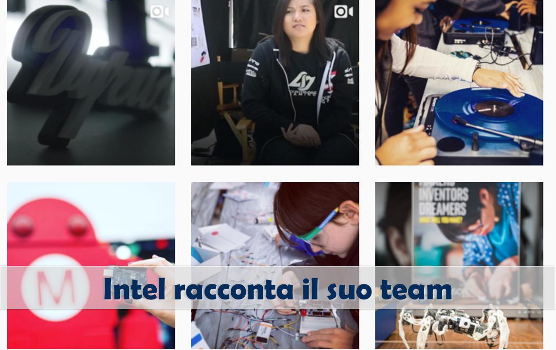 Instagram marketing Intel