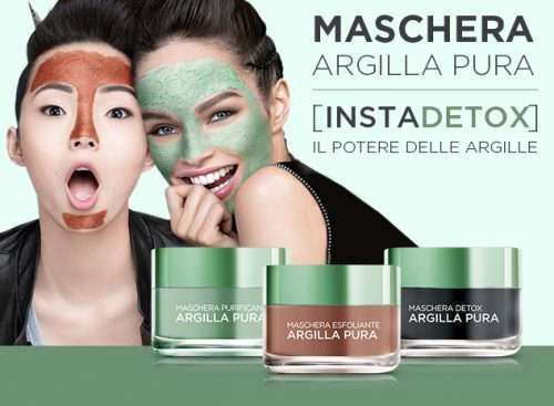 Maschera Argilla pura L'Oréal Precision marketing