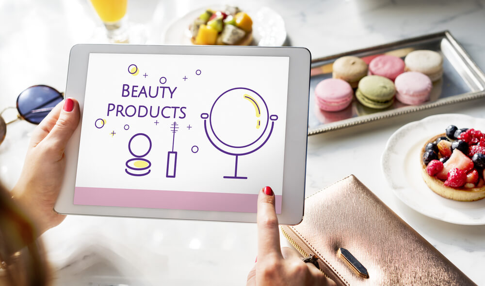 ricerca online beauty products