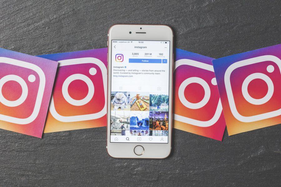 Instagram applicazione mobile Visual Storytelling
