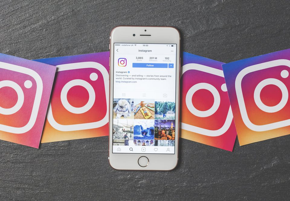 Instagram applicazione mobile Visual Storytelling