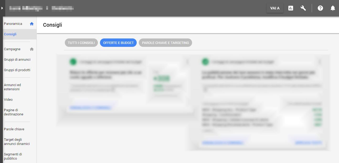 Google Adwords - Consigli