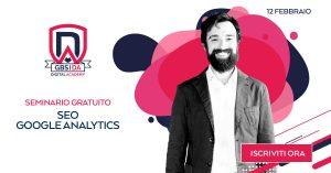 seminario gratuito seo google analytics